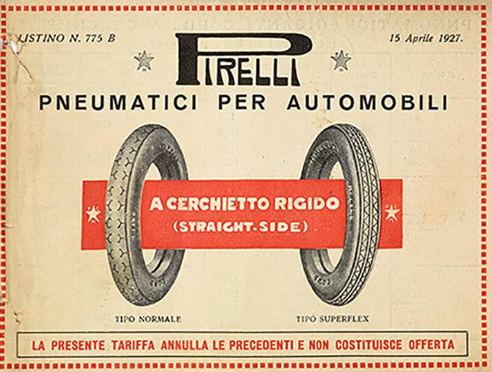 Pirelli Historie