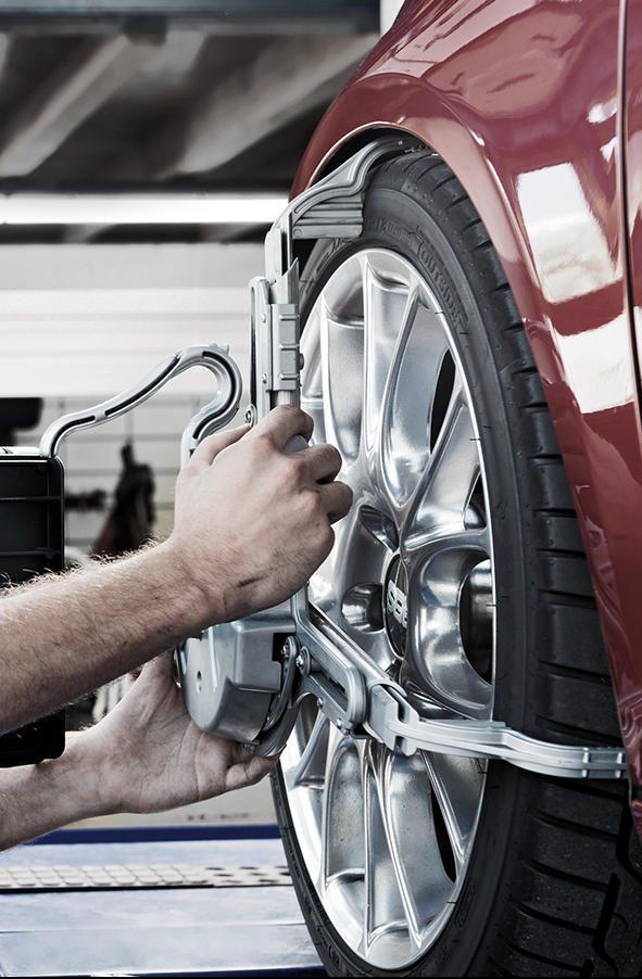 Laat uw auto uitlijnen bij Premio Banden en Autoservice