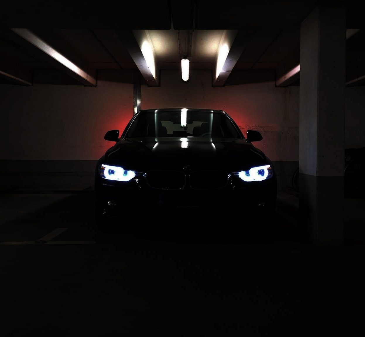 Autoverlichting garage