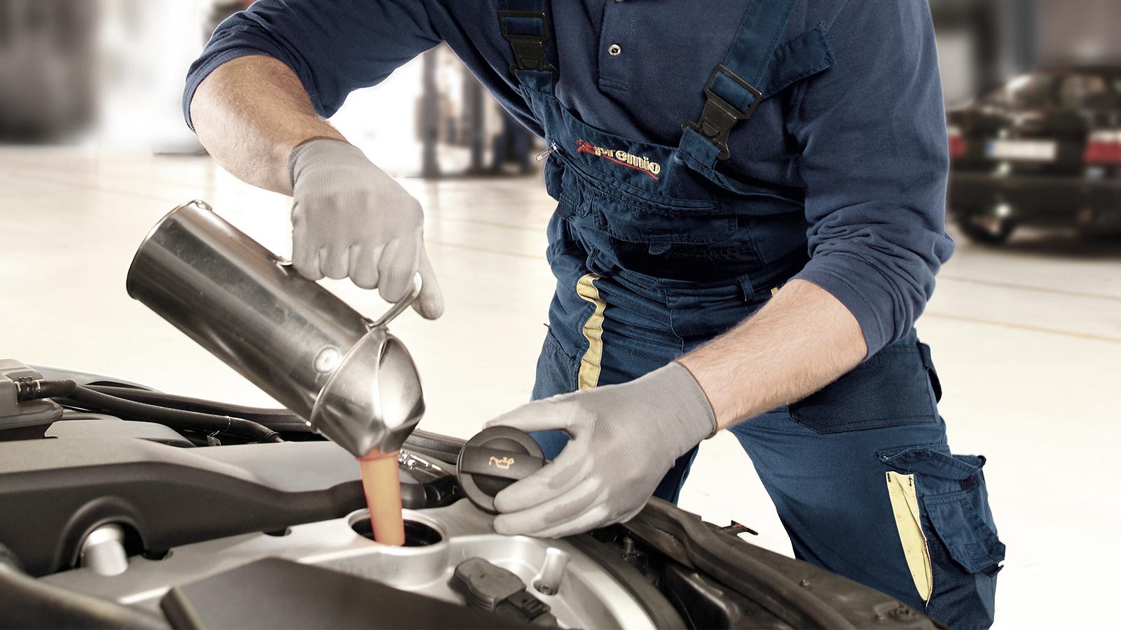 Olie verversen helpt uw motor optimaal te functioneren